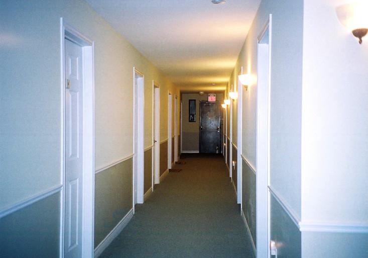 Hallway in Women's Residence B