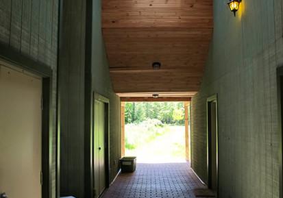 Breezeway in Residence A